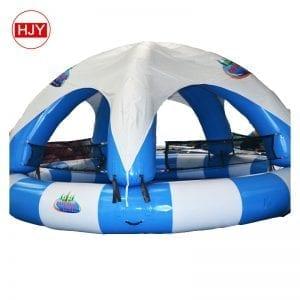 Water pool tents