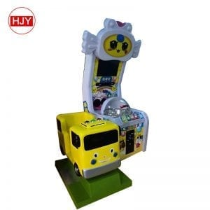 Coin - operated simulator toy double design Kids PK game console for children