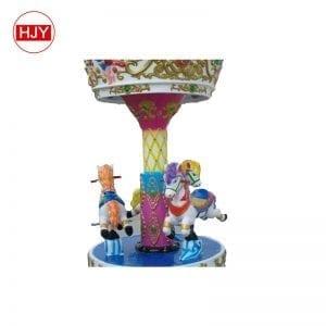 fiberglass children carousel